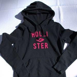 Hollister black sweatshirt hoodie pullover